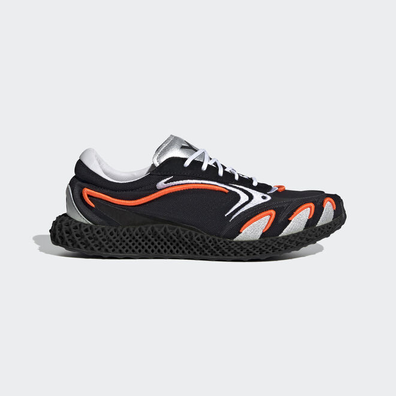 adidas Y-3 Runner 4D Black Orange productafbeelding