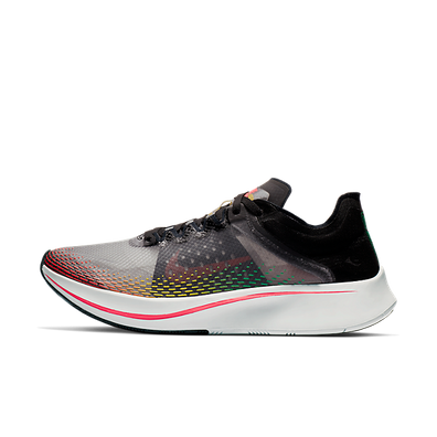 Nike Zoom Fly SP Fast Black Lucid Green Red Orbit productafbeelding