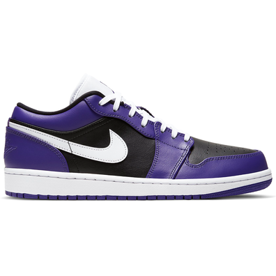 Jordan 1 Low Court Purple Black productafbeelding