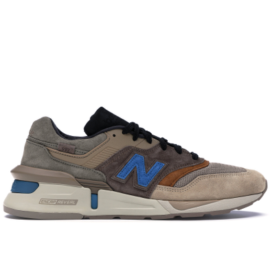 New Balance 997S Fusion Kith x nonnative Brown Beige productafbeelding