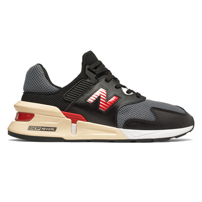 New Balance 997S Black Red productafbeelding
