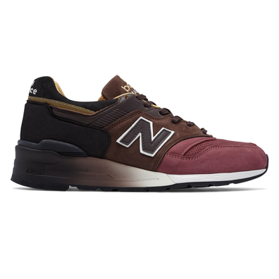 New Balance 997 Home Plate Pack Brown Black productafbeelding