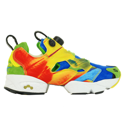 """Reebok Instapump Fury Crooked Tongues """"The Angry Bird"""" productafbeelding"""
