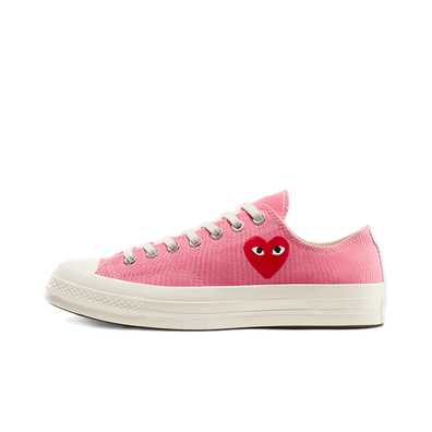 Comme des Garcons X Converse Chuck Taylor Low 'Bright Pink' productafbeelding