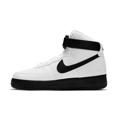 ALYX x Nike Air Force 1 High White Black (2020) productafbeelding