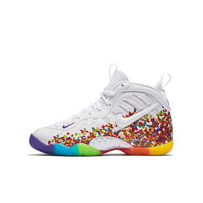 Nike Air Foamposite One White Fruity Pebbles 2017 (GS) productafbeelding