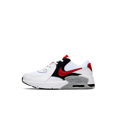 Air Max Excee White University Red (PS) productafbeelding