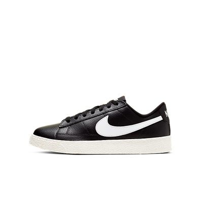 Nike Blazer Low Black (GS) productafbeelding