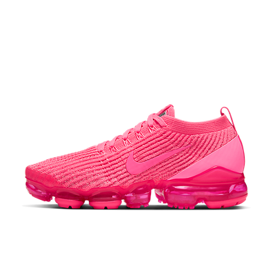 Nike Air VaporMax Flyknit 3 Triple Pink (W) productafbeelding