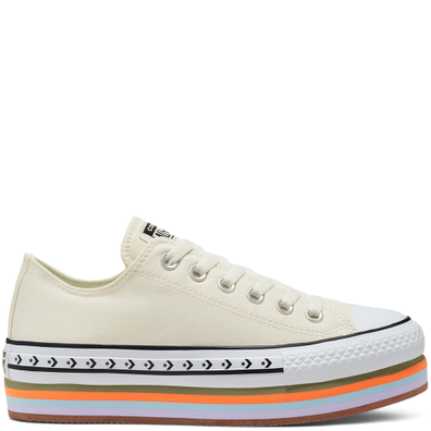 Sunblocked Platform Chuck Taylor All Star Low Top productafbeelding