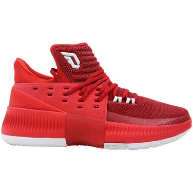 adidas Dame 3 Power Red productafbeelding