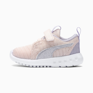 Puma Carson 2 Glitter V Baby Girls Trainers productafbeelding