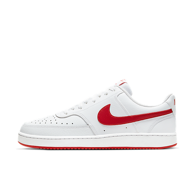 NikeCourt Vision Low White University Red productafbeelding