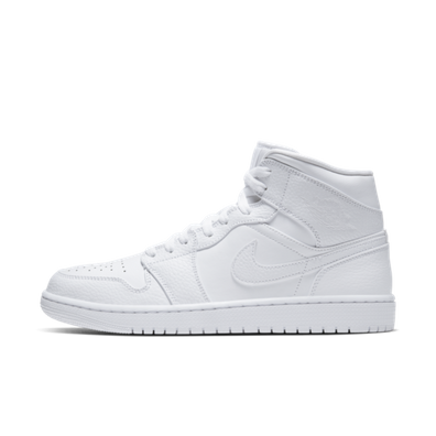 Air Jordan 1 Mid 'Triple White' productafbeelding
