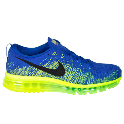Nike Flyknit Air Max Game Royal Electric Green productafbeelding