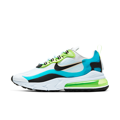 Nike Air Max 270 React Vibrant Pack 'Oracle Aqua' productafbeelding