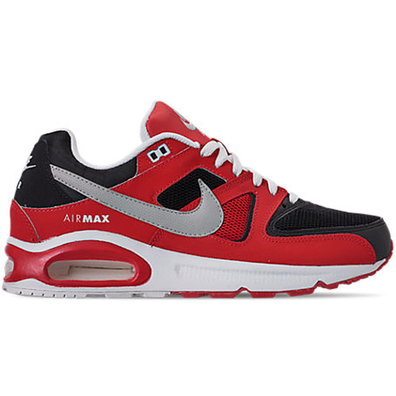 Nike Air Max Command Black Silver Red productafbeelding