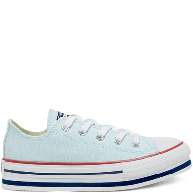 Everyday Ease Platform Chuck Taylor All Star Low Top voor kids productafbeelding