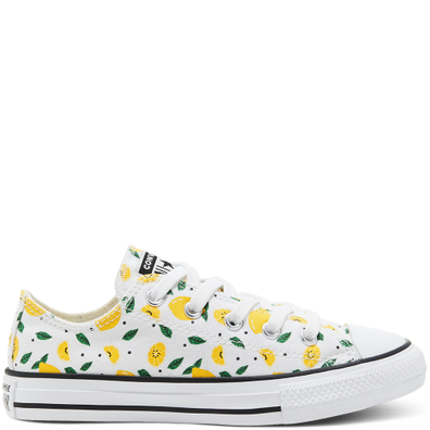 Big Kids Summer Fruits Chuck Taylor All Star Low Top productafbeelding