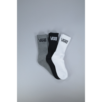 Vans Solid crew sock bl/wh/g 3-pack productafbeelding