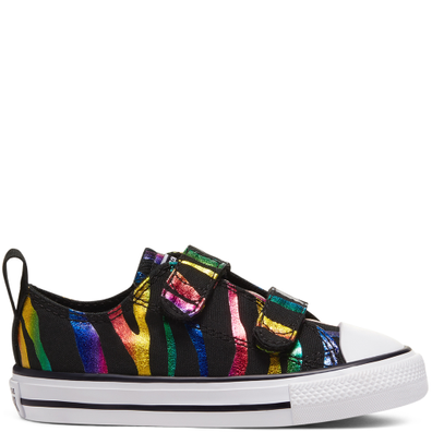 Archive Zebra Easy-On Chuck Taylor All Star Low Top voor peuters productafbeelding