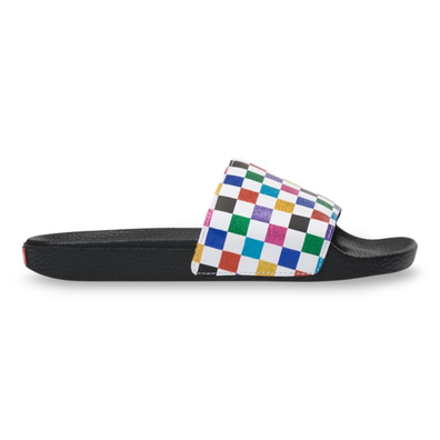 VANS Glitter Rainbow Slide-on Sandalen  productafbeelding