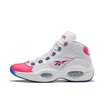 Reebok Question Mid 'White/Pink' productafbeelding