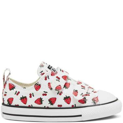 Summer Fruits Chuck Taylor All Star Low Top voor peuters productafbeelding