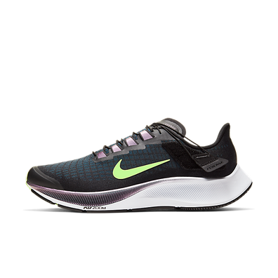 Nike Air Zoom Pegasus 37 Flyease Black Valerian Blue Ghost Green productafbeelding