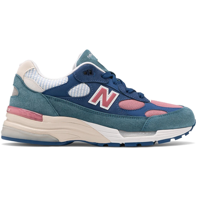 New Balance 992 Blue Teal Rose productafbeelding