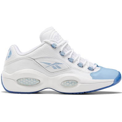 Reebok Question Low Patent Toe Carolina Blue productafbeelding