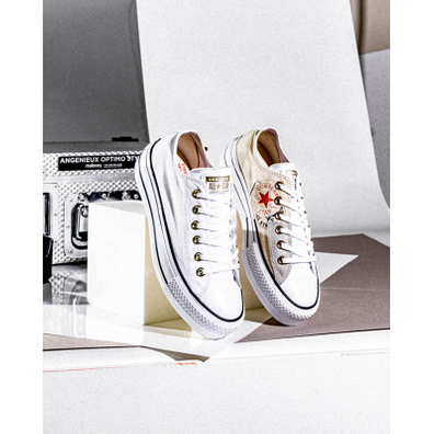 Converse Chuck Taylor All Star Platform Low productafbeelding