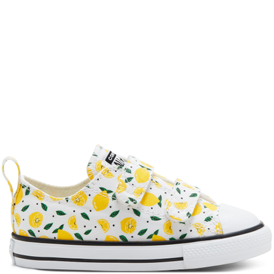 Summer Fruits Easy-On Chuck Taylor All Star Low Top voor peuters productafbeelding