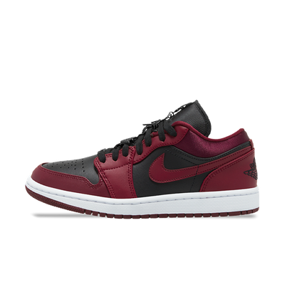 Air Jordan 1 Low 'Black/Red' productafbeelding