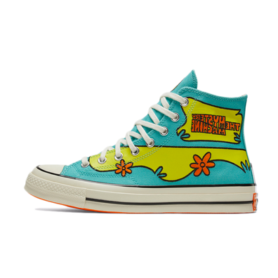 Scooby-Doo X Converse Chuck Taylor 70s Hi 'Sulfur Spring' productafbeelding