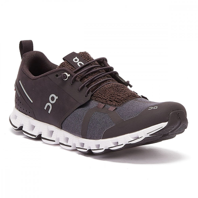 On Running Cloud Terry Mens Dark Grey Trainers productafbeelding
