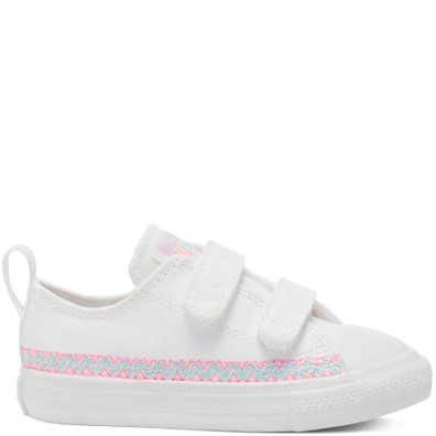 Friendship Bracelet Easy-On Chuck Taylor All Star Low Top voor peuters productafbeelding