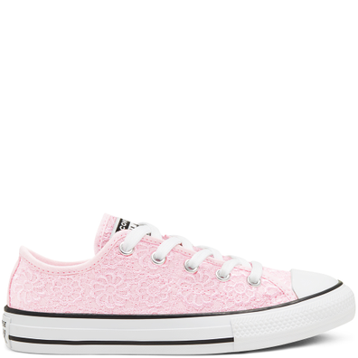 Daisy Crochet Chuck Taylor All Star Low Top voor kids productafbeelding