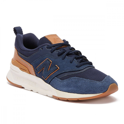 New Balance 997H Mens Navy / Tan Trainers productafbeelding