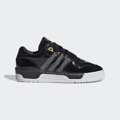 adidas Rivalry Low W Core Black/ Ftw White/ Gold Metalic productafbeelding