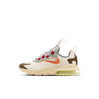 Travis Scott X Nike Air Max 270 React GS 'Cactus Trails' productafbeelding