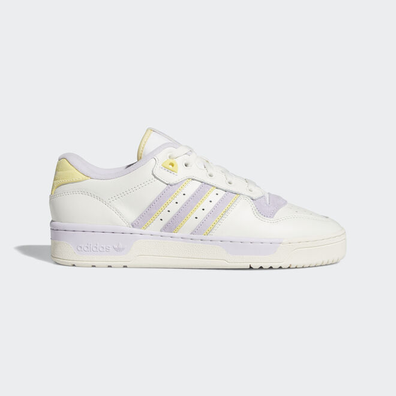 adidas Rivalry Low Cloud White/ Off White/ Purple Tint productafbeelding