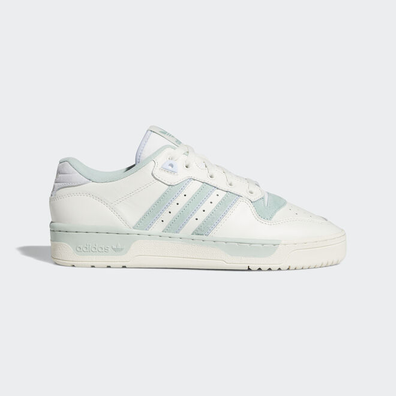 adidas Rivalry Low Cloud White/ Off White/ Green Tint productafbeelding