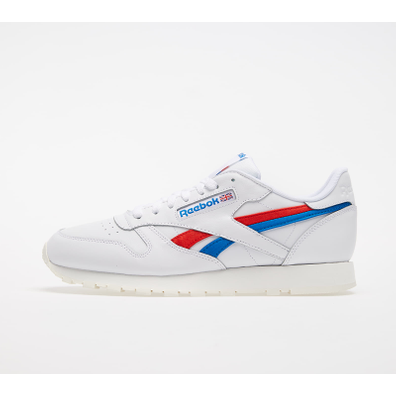 Reebok Classic Leather White/ Instinct Red/ Dynamic Blue productafbeelding