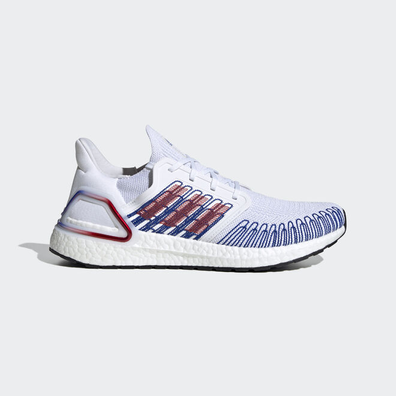 adidas Ultra Boost 20 Scarlet Royal Blue productafbeelding