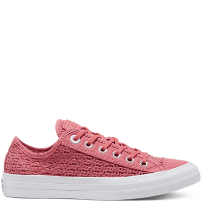 CTAS OX SHIMMER/MADDER PINK/WIT productafbeelding