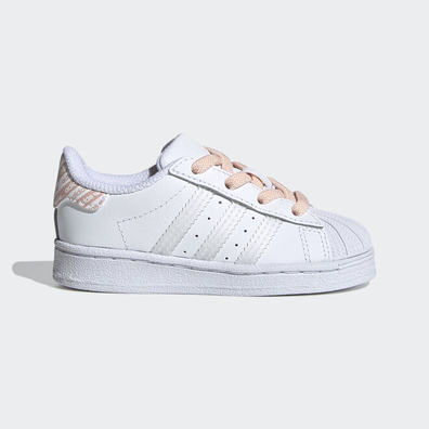 Adidas Superstar white/irides/pink TS productafbeelding