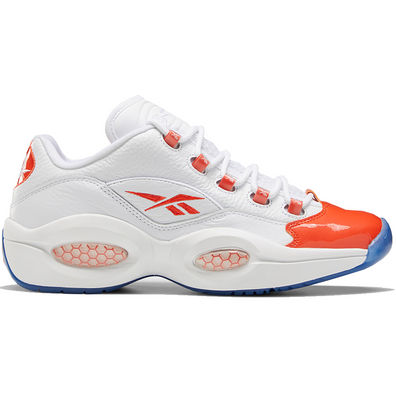 Reebok Question Low Patent Toe Orange productafbeelding