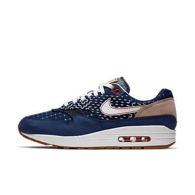 Denham x Nike Air Max 1 'Blue Void' productafbeelding