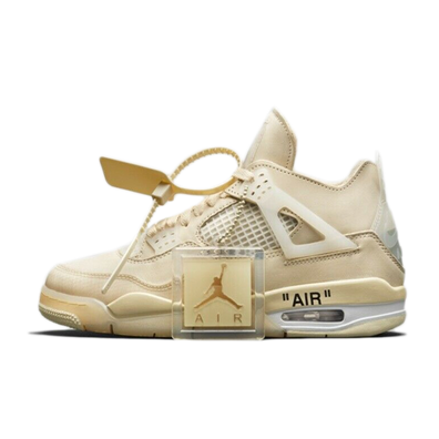 Off-White X Air Jordan 4 SP WMNS 'Sail' productafbeelding